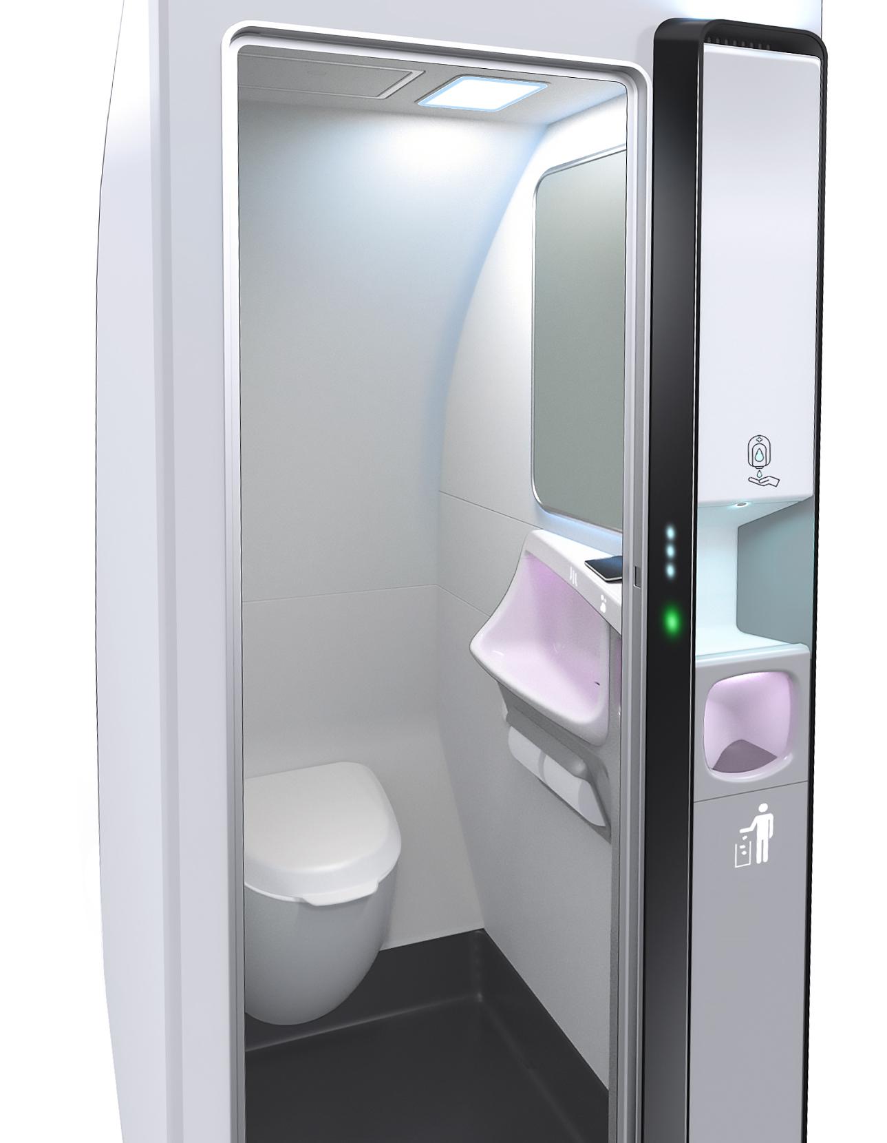 Safran Cabin's Beacon Clean Lavatory concept