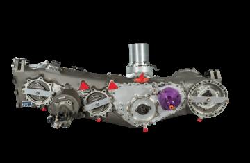 Trent XWB power transmission system