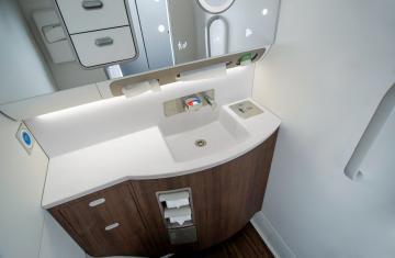 Safran Cabin SmartLav lavatories