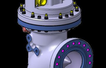 Vanne chambre hydrogène électrique (HCV) ETID