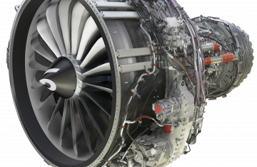 LEAP-1B engine for single-aisle commercial jets