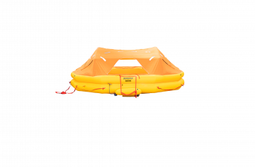 Integrated military and civilian life raft systems