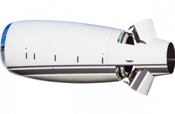 Bombardier Global 5000/6000 thrust reversers