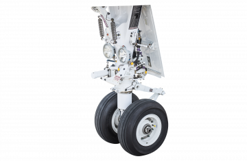 Bombardier Challenger 300/350 main and nose landing gears