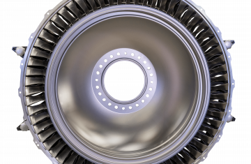 Low-pressure compressors for engines of business and regional aircraft