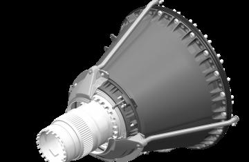 Enceintes de paliers avant pour turboréacteurs civils