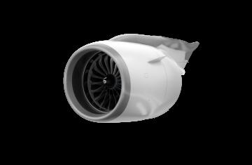 Nacelles de l'Airbus A320neo