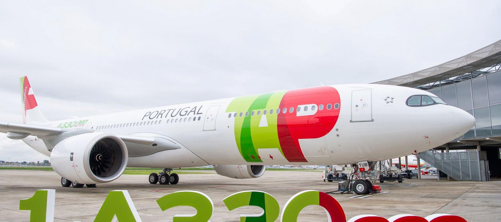 Airbus a livré son premier A330neo à la compagnie portugaise TAP