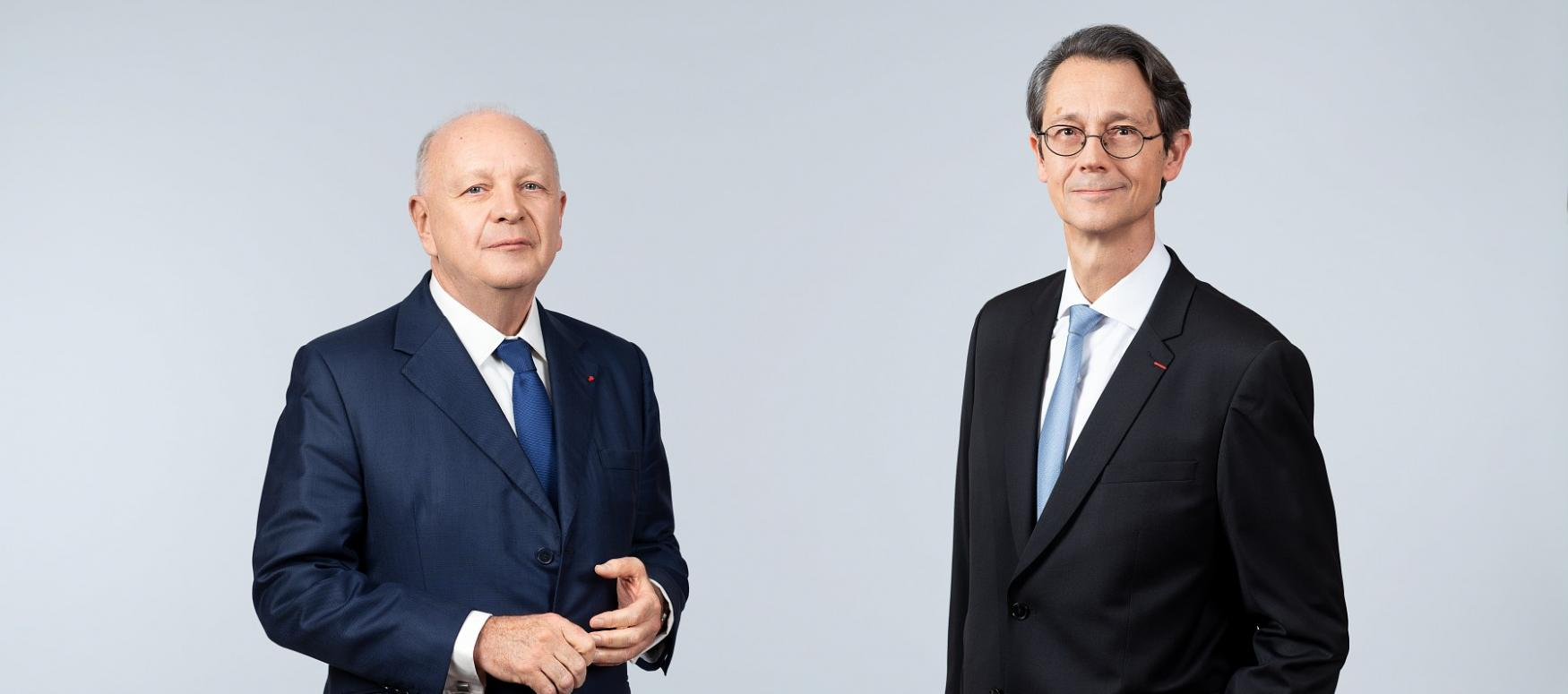 Ross McInnes, Chairman of the Board and Olivier Andriès, Chief Executive Officer of Safran