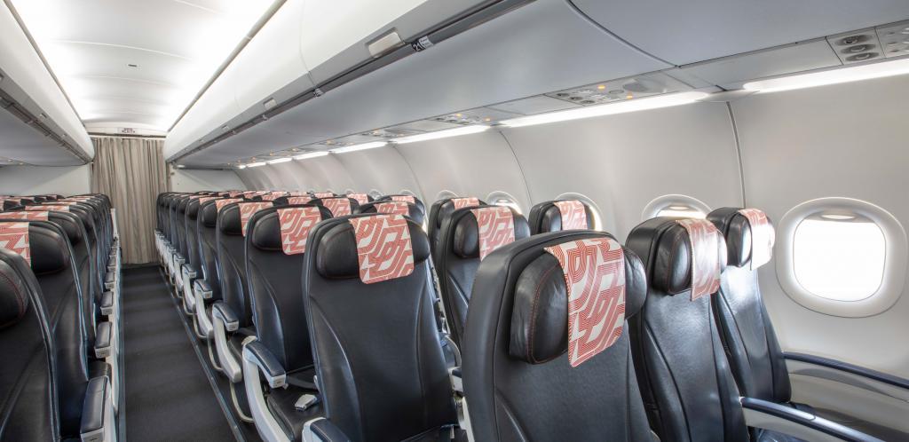 Safran Cabin ECOS Overhead Bins – Air France