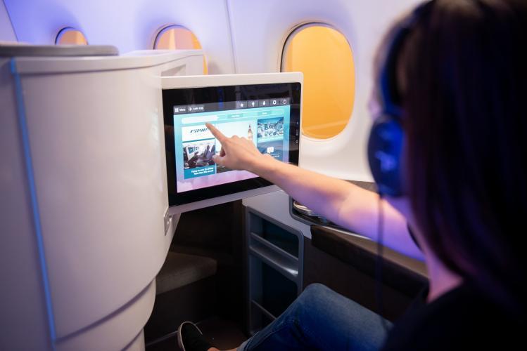 Système de divertissement en vol RAVE (I.F.E)