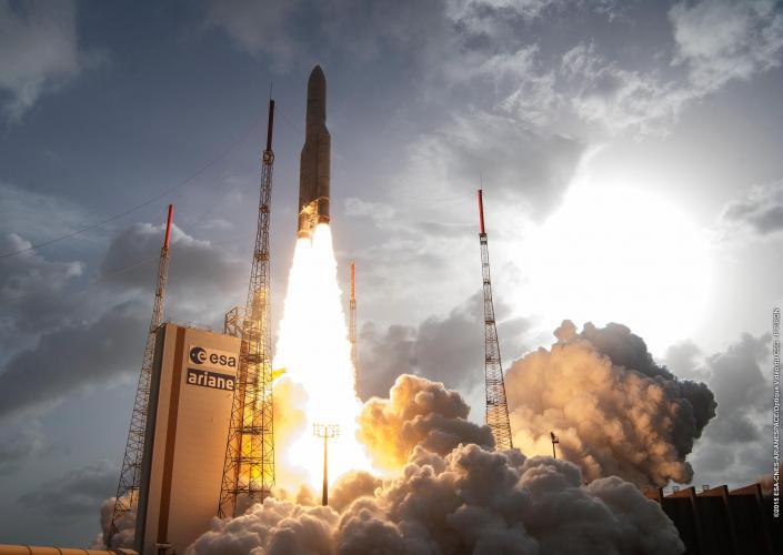 April 26, 2015 – Ariane Flight VA222