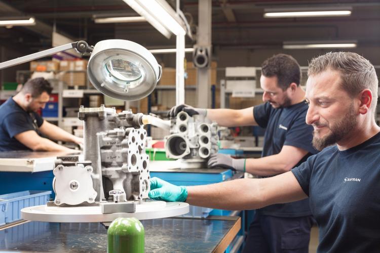 Lubrification unit inspection for LEAP engine
