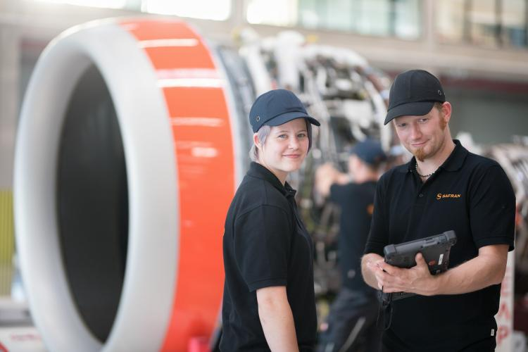 Nacelle/engine integration for LEAP-1A turbofan powerplants on the A320neo