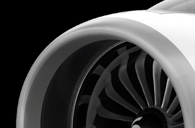 Nacelle de l'Airbus A320neo