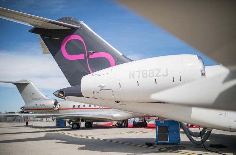 Bombardier Aerospace Global 5000 Zetta Jet