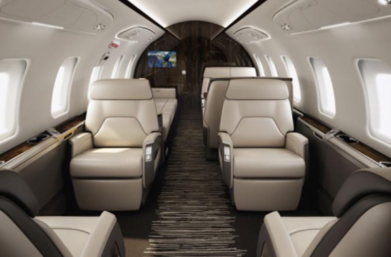 Business Jet Challenger 605 Interior
