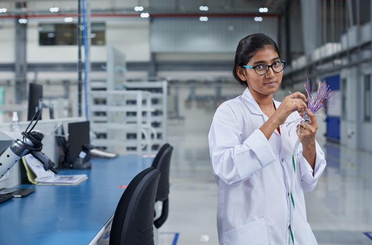 Leap Production Line at Safran facility in Hyderabad, India