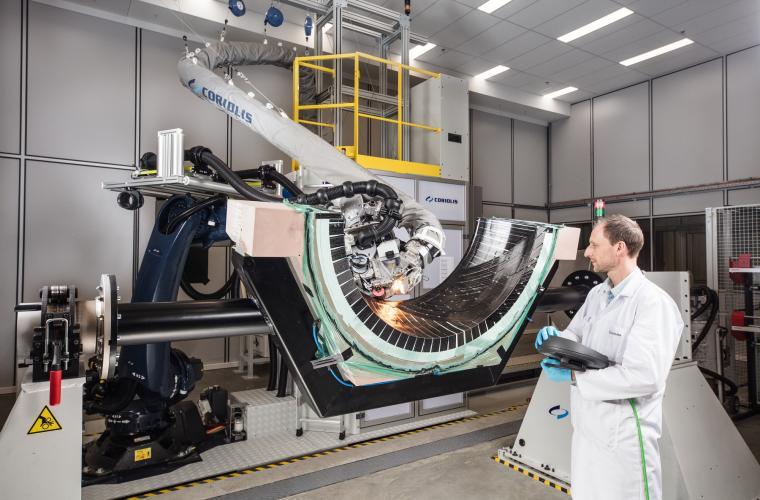 Robot de drapage composite