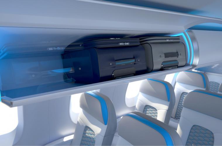 Intérieur de cabine ATMOSPHÈRE de la série des Bombardier Canadair Regional Jet (CRJ)