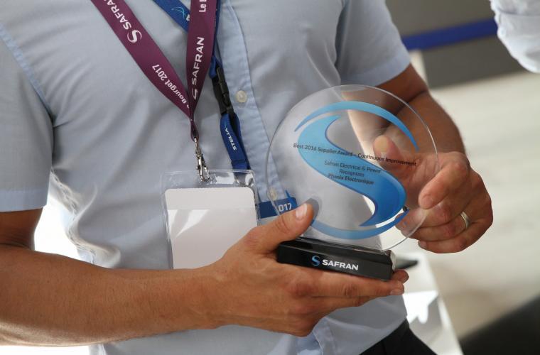 Safran Electrical & Power : Supplier Awards