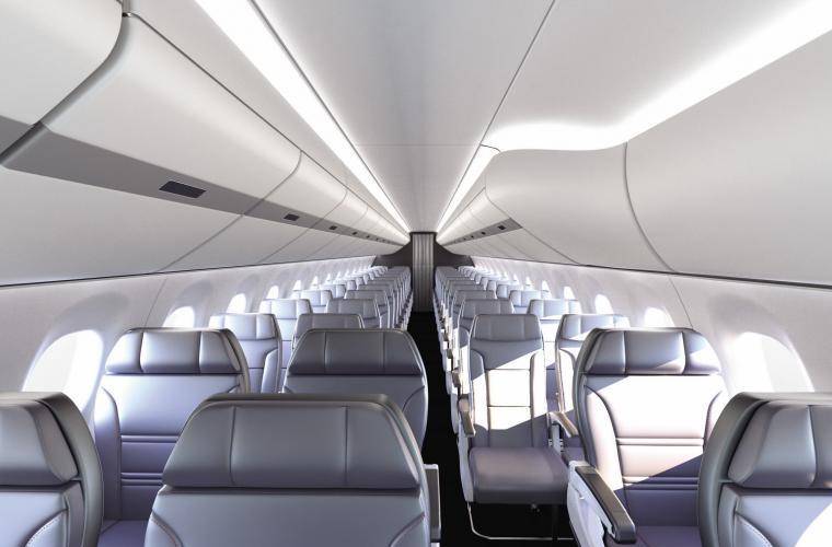Embraer E170 ECOS cabin