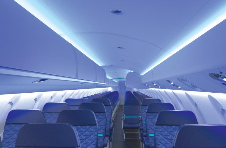 ATMOSPHERE Bombardier CRJ Series cabin