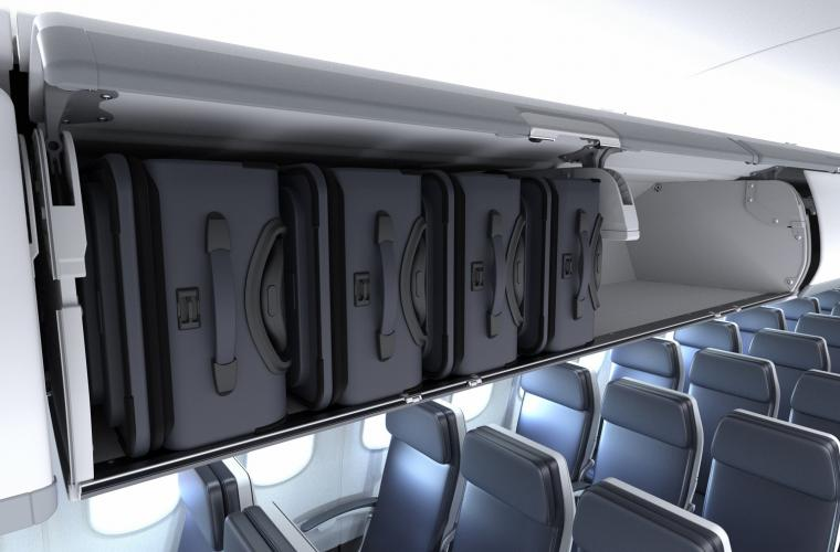 ECOS Fixed shelf bins for A320