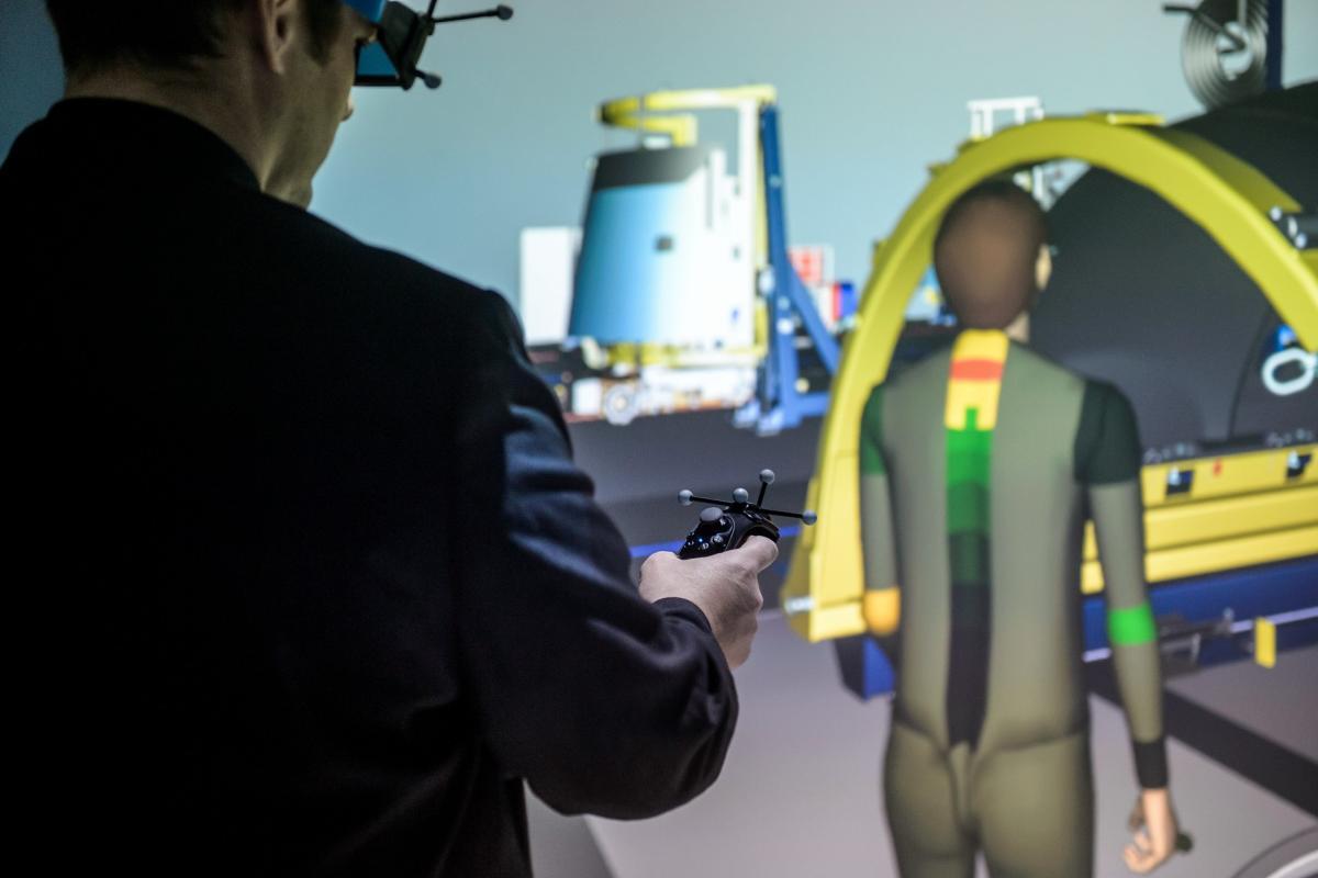 Virtual reality in Safran Nacelles