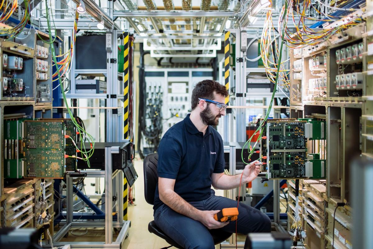 A350 Electrical System Test Bench