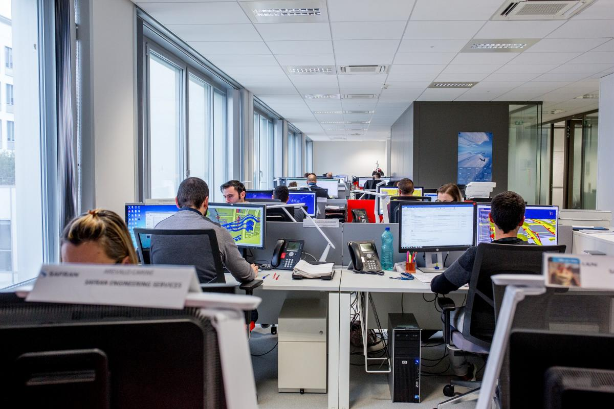 SES employees in Safran Toulouse