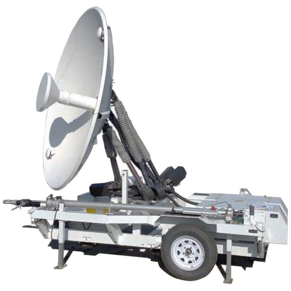 Mobile satellite tracking systems : IRIS-Series