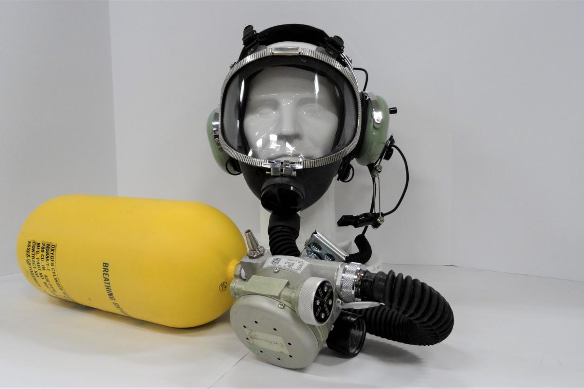MA-1 with Firefighting smoke Mask