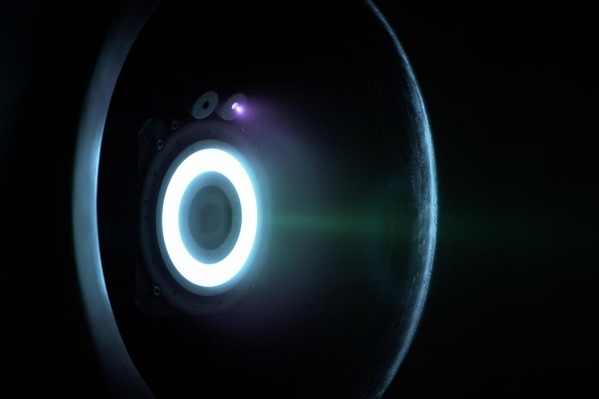 PPS®1350-G Stationary Plasma Thruster - Simulated altitude test