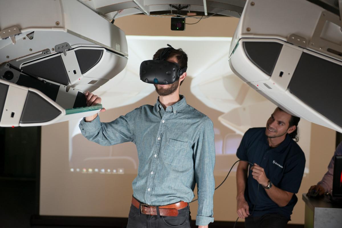 Virtual Reality (VR) demo