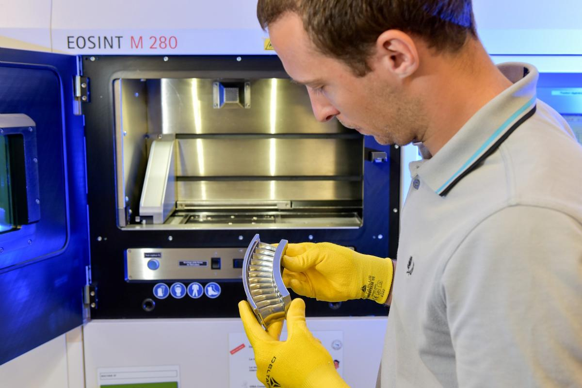 Compressor stage HP realizes in additive manufacturing
