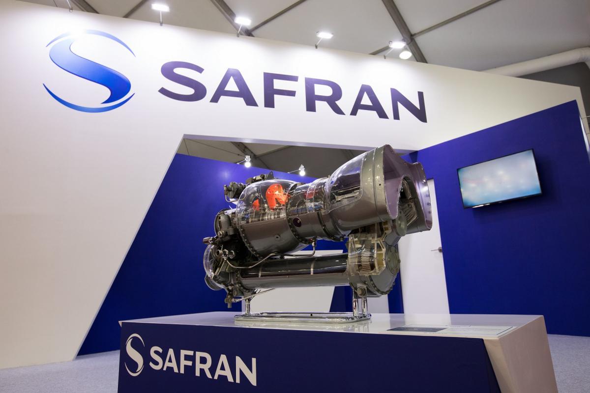 Model of Arriel 1 engine (Safran Helicopter Engines)