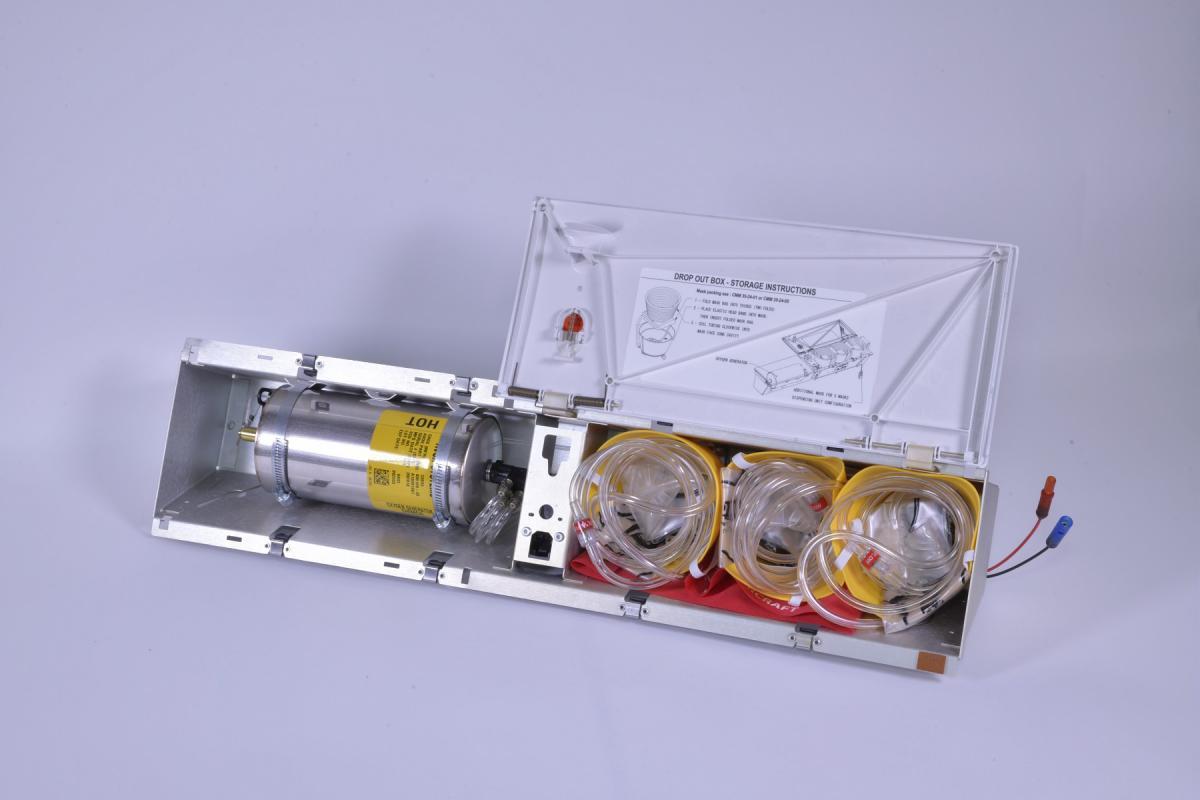 Passenger Oxygen Systems - Drop Out Box