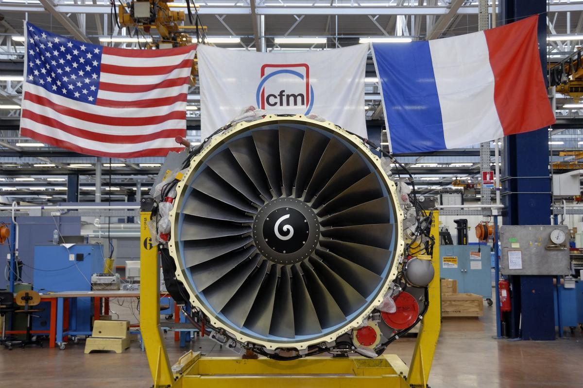 Livraison du 5000 ème CFM56-7 - Villaroche, janvier 2008