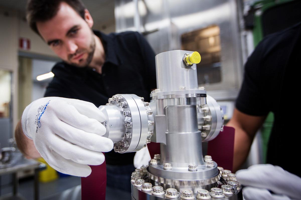 Space equipement - Safran Aero Boosters - VC - Vulcain engine.