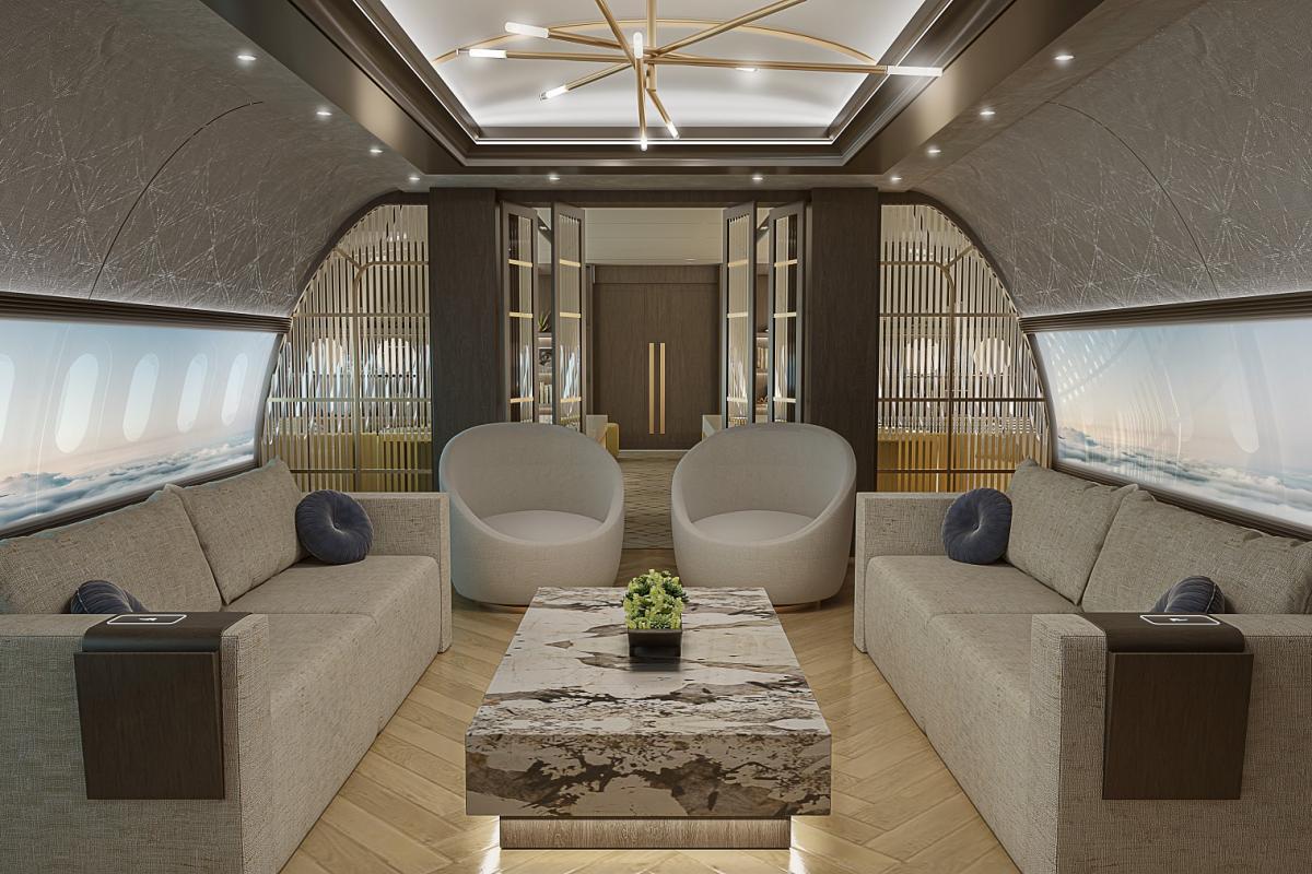 Concept de cabine Ascend