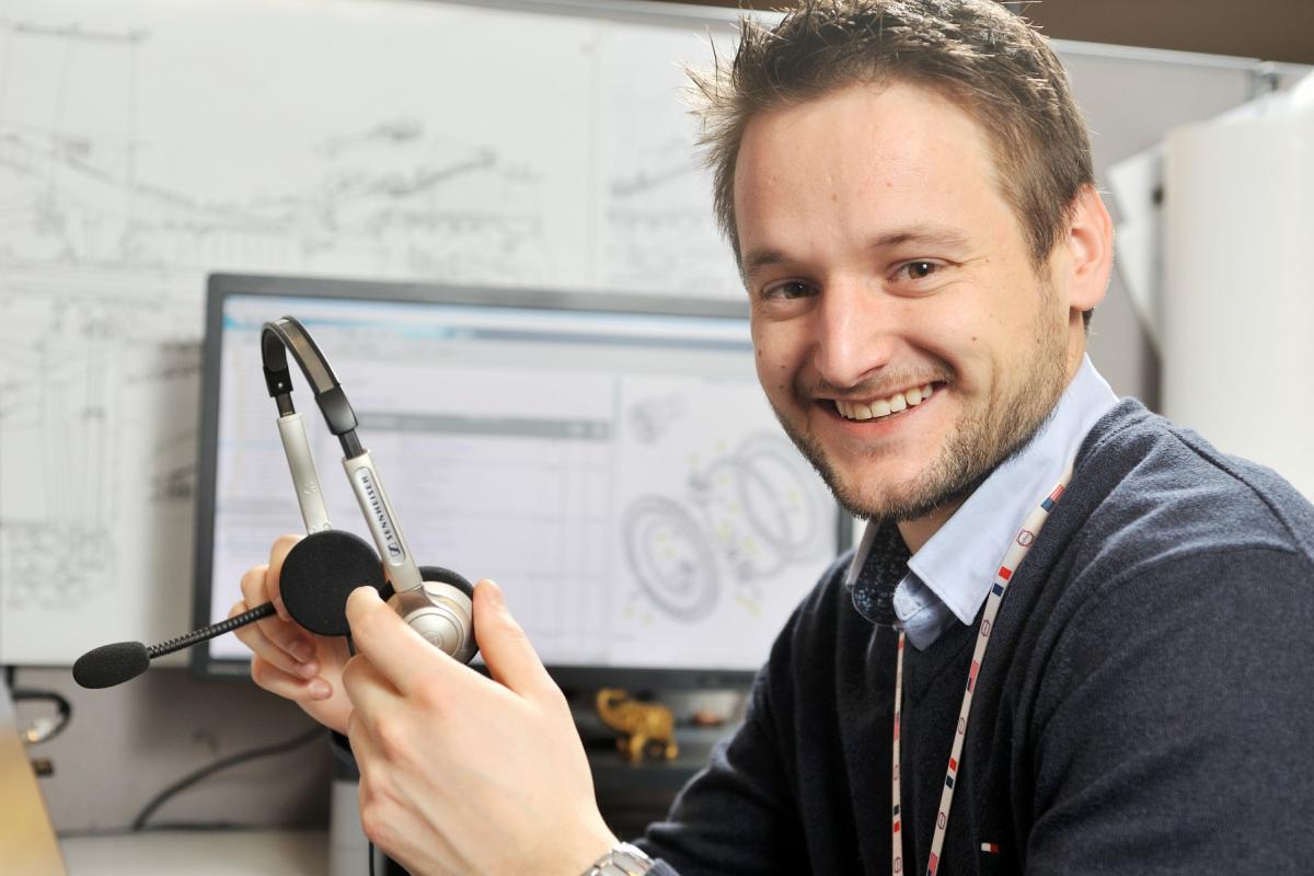 Mathieu Risler, Customer Support Center (CSC) - Montereau