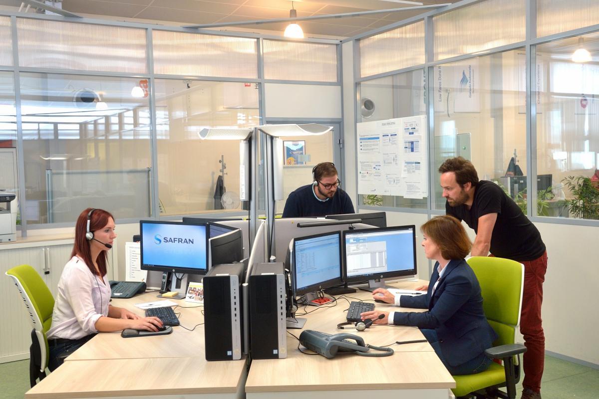 Le Customer Support Center (CSC) de Safran Nacelles