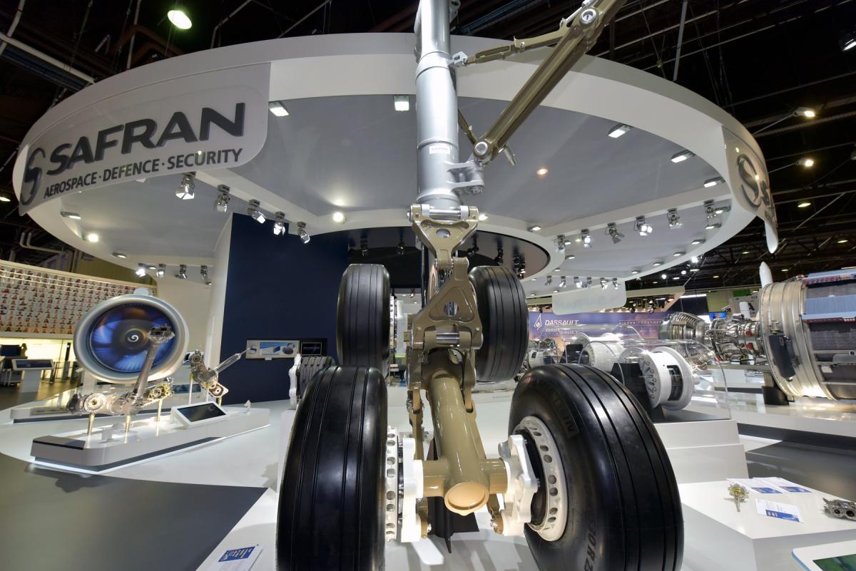 Main landing gear A350-900 (Safran Landing Systems)