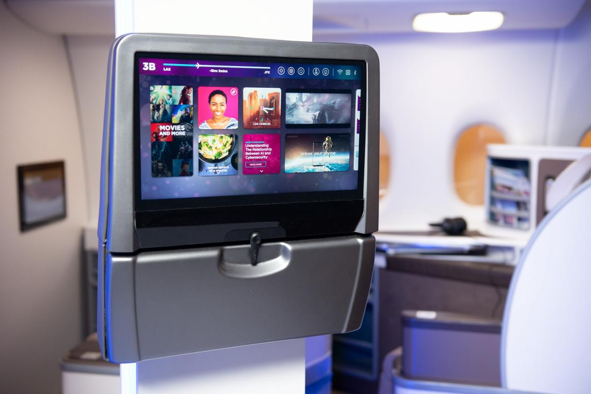 RAVE In-Flight Entertainment System (I.F.E)