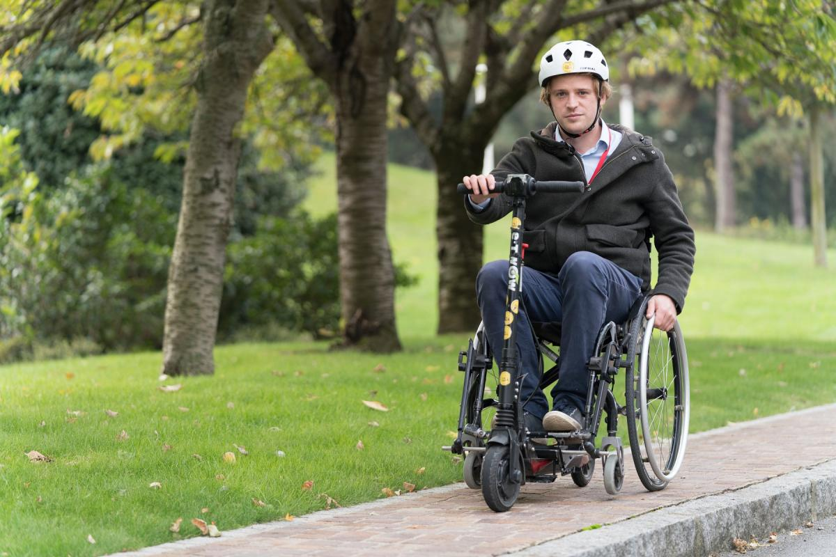 The Safran Foundation and OMNI offer improved mobility to wheelchair users