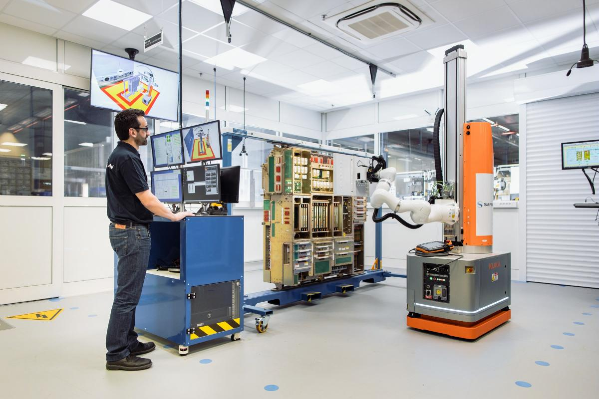 Vision Technology Robot - A350 Power Electrical Distribution System Inspection