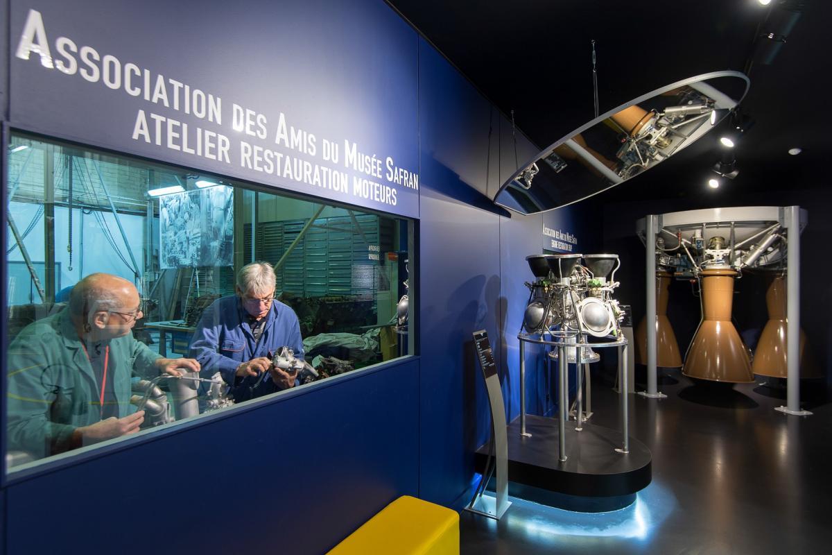 Safran Museum: gallery dedicated to space