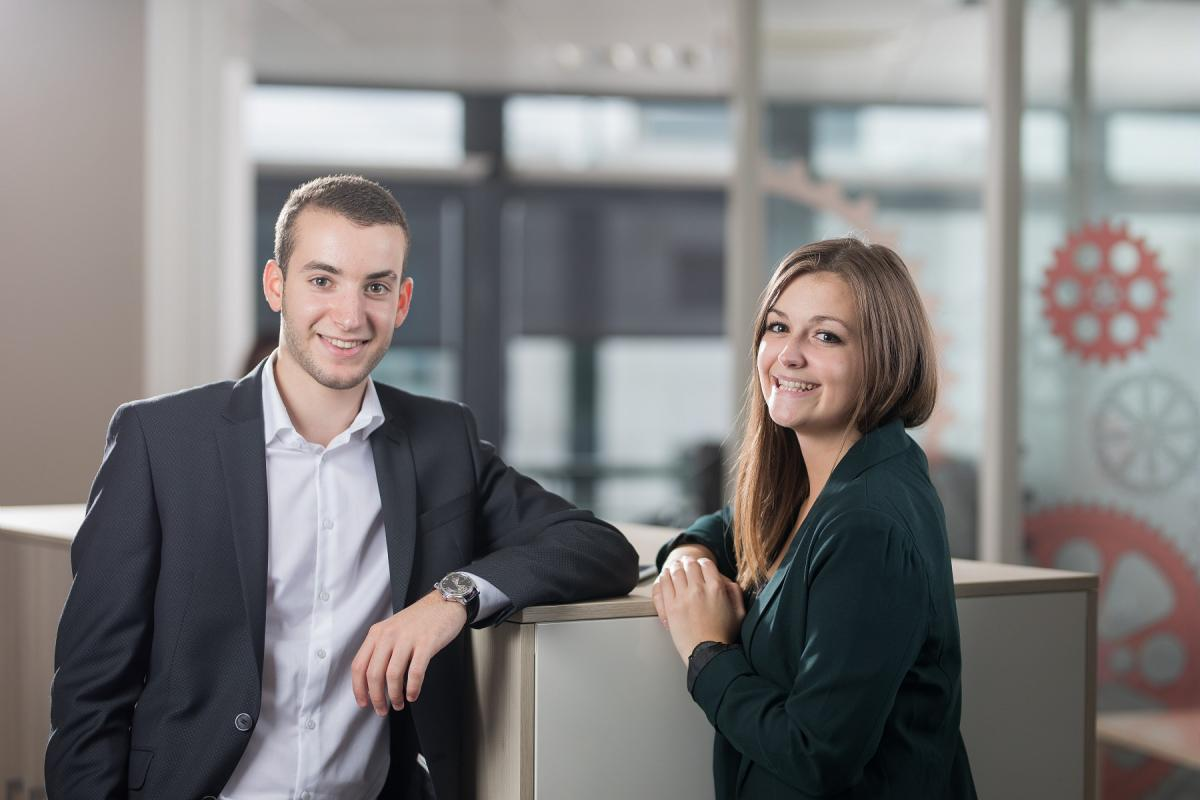 Young Safran employees