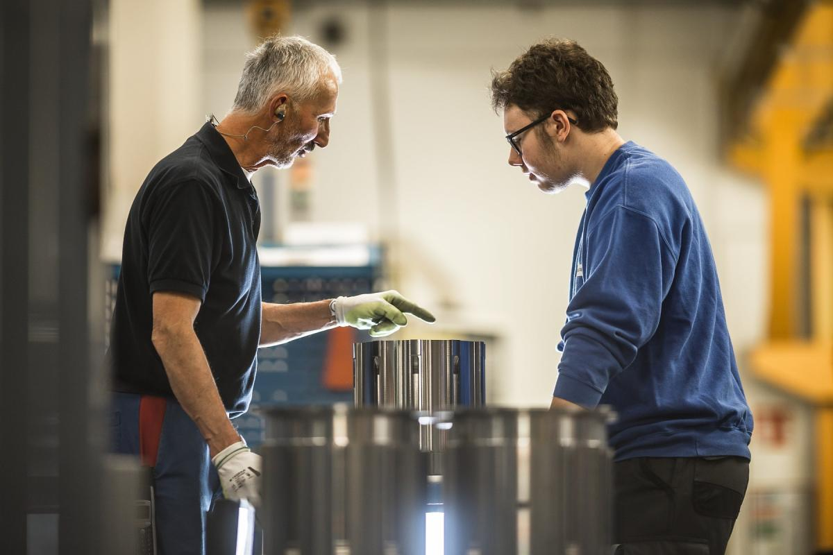 Training of a novice : machining